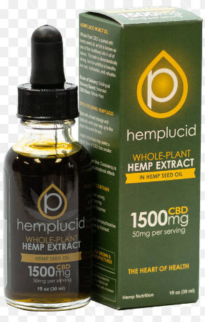 Hemplucid Hemp Seed Oil CBD 1500mg