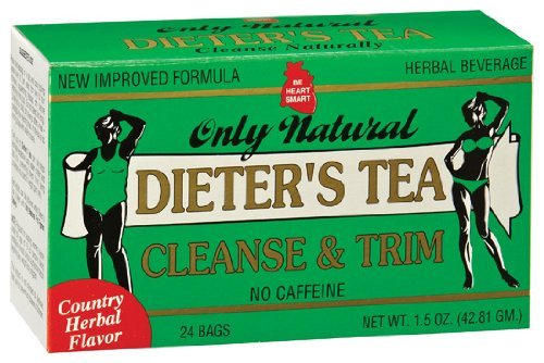 ONLY NATURAL: Dieter's Cleansing Tea Herbal 24 bag
