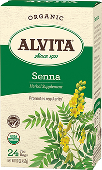 Senna Leaf Tea Organic, 24 bag