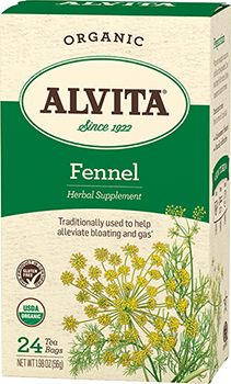 Fennel Seed Tea Organic, 24 bag