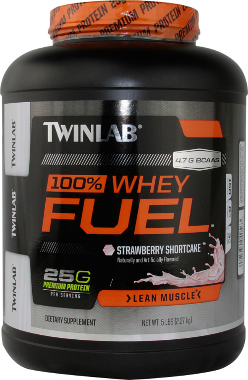 100% Whey Protein Fuel Strawberry