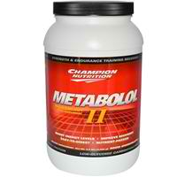 CHAMPION NUTRITION: Metabolol II Chocolate 2.2 lb
