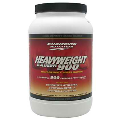 CHAMPION NUTRITION: Heavyweight Gainer 900 Vanilla 3.3 LBS