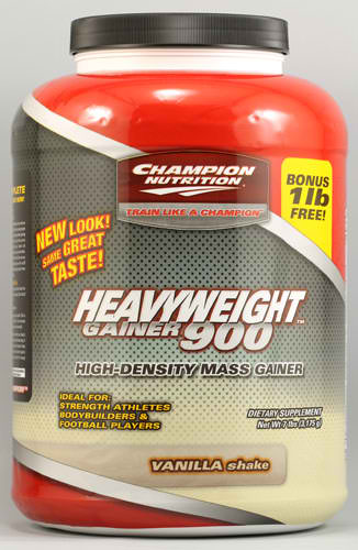 CHAMPION NUTRITION: Heavyweight Gainer 900 Vanilla 7 LBS