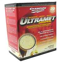 CHAMPION NUTRITION: Ultramet  Vanilla 20 PACKS