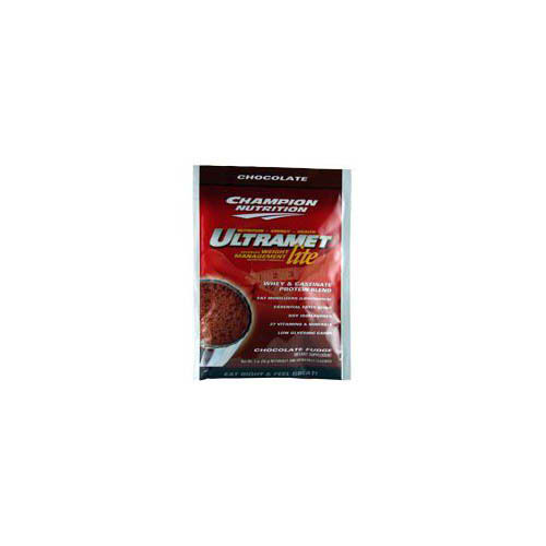 CHAMPION NUTRITION: Ultramet Lite Packets Chocolate 60 packets