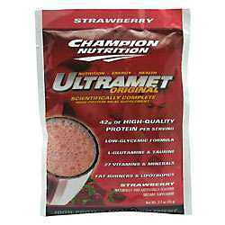 CHAMPION NUTRITION: ULTRAMET STRAWBERRY 60 packs