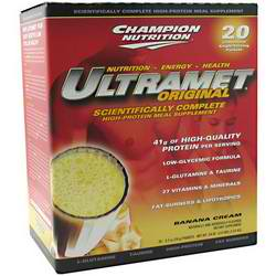 CHAMPION NUTRITION: Ultramet Banana 20 PACKS