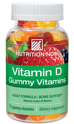 NUTRITION NOW: VITAMIN D GUMMY ADULT 75CT