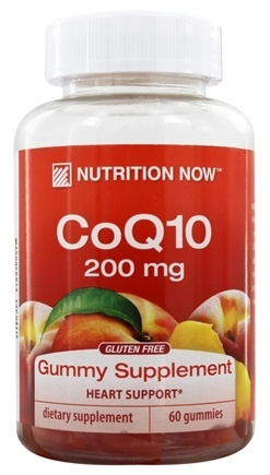 NUTRITION NOW: CoQ10 Adult Gummy Vitamin 60 chews