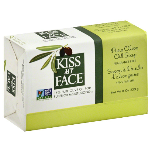 KISS MY FACE: Bar Soap Pure Olive Oil 8 oz