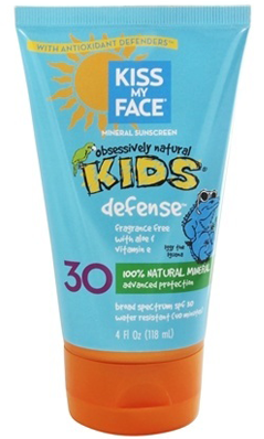 KISS MY FACE: Natural Mineral Sunblock Lotion 4 oz
