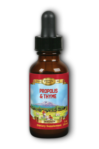 Propolis Thyme Tincture Dietary Supplement