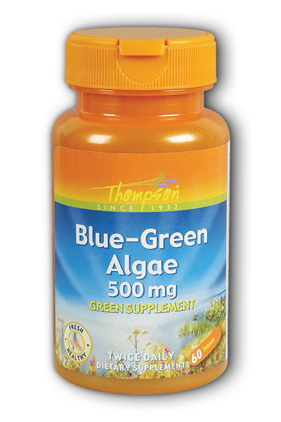 Blue Green Algae 500mg, 60ct 500mg