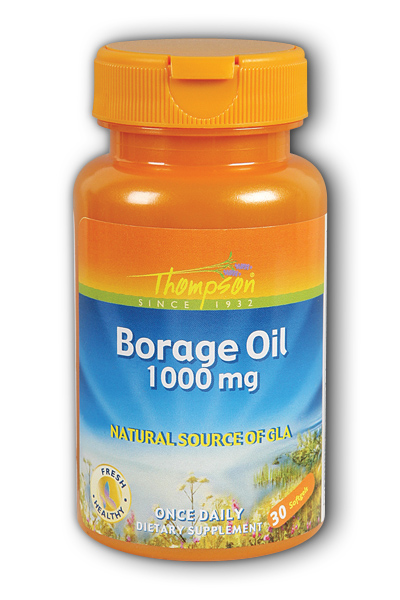 Thompson Nutritional: Borage Oil 500mg 30ct 1000mg