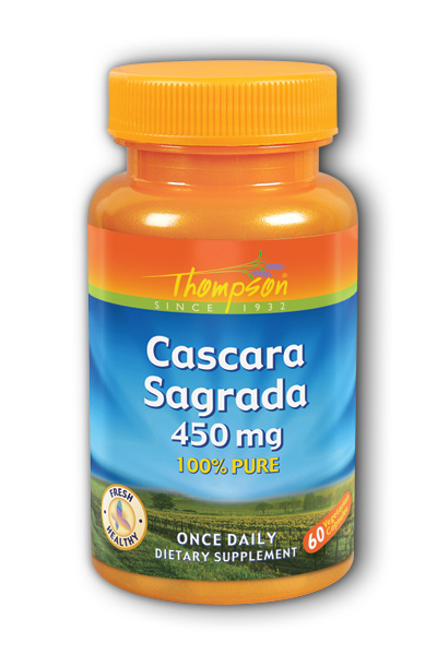 Thompson Nutritional: Cascara Sagrada 450mg 60ct 450mg