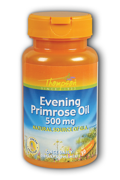 Thompson Nutritional: Evening Primrose Oil 30ct 500mg