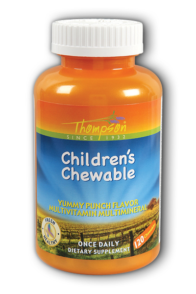 Thompson Nutritional: Children's Multi Punch 120ct