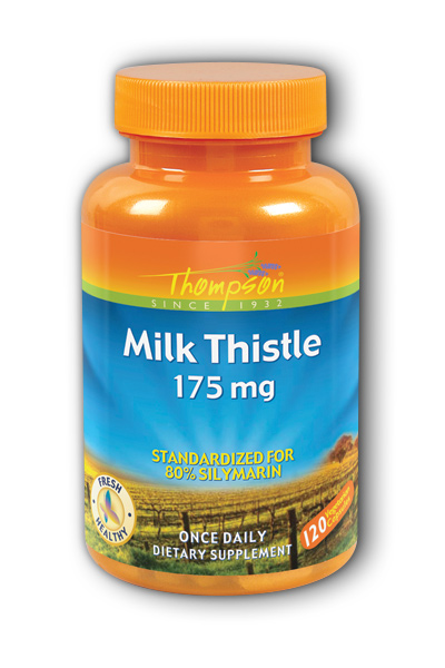 Thompson Nutritional: Milk Thistle extract 175mg 120ct 175mg