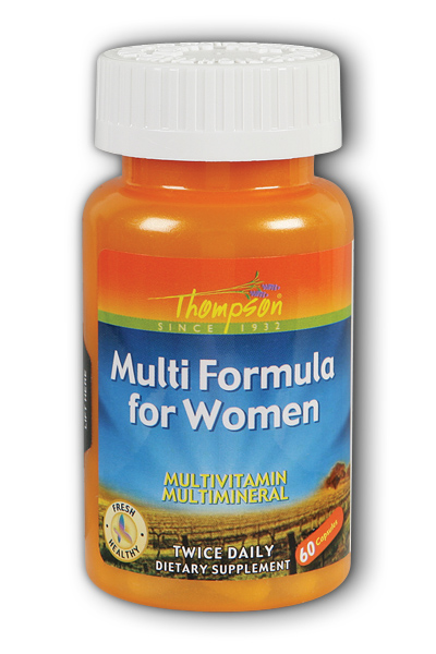 Thompson Nutritional: Multi-Formula for Women 60ct