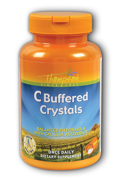 Thompson Nutritional: Buffered C Crystals 4oz