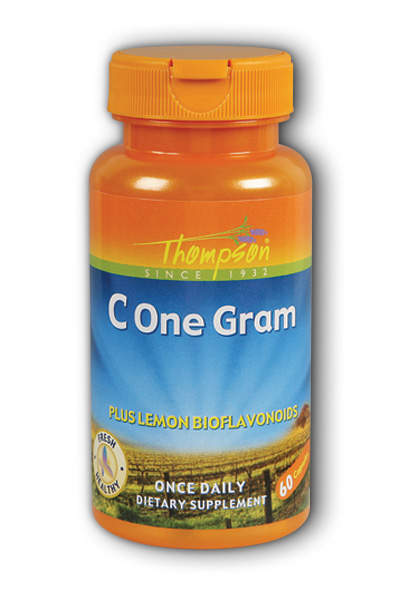 Thompson Nutritional: C One Gram 60ct 1000mg
