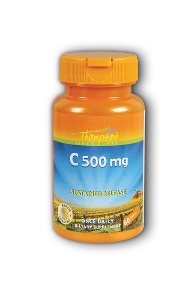 Thompson Nutritional: C 500 Buffered 60ct 500mg