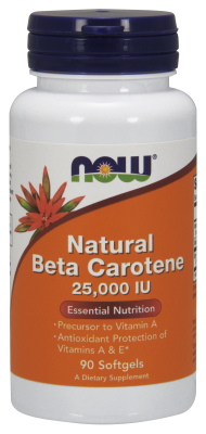 NAT BETA CAROTENE 25000  90 SGELS, 1