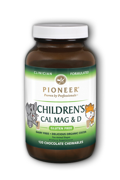 Pioneer: Childrens Cal Mag And D Chocolate 120 Chews