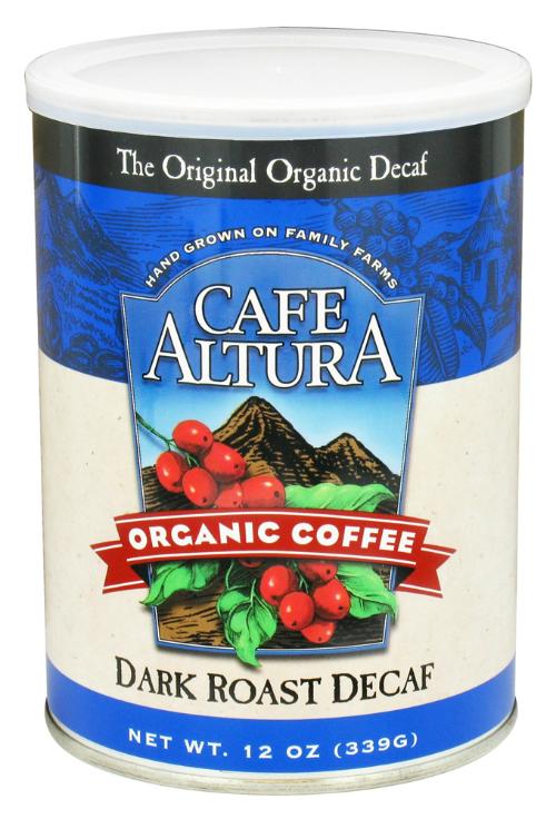 dark roast decaf ground coffee 12 oz from cafe. Black Bedroom Furniture Sets. Home Design Ideas