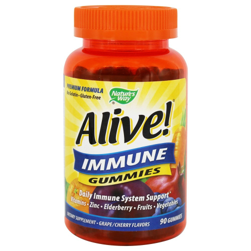 Nature's Way: Alive Immune Gummies 90 chew