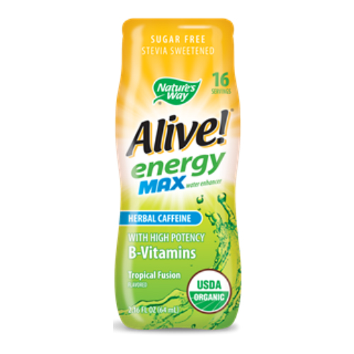 Alive Energy Max Organic Water Enhancer Tropical Fusion