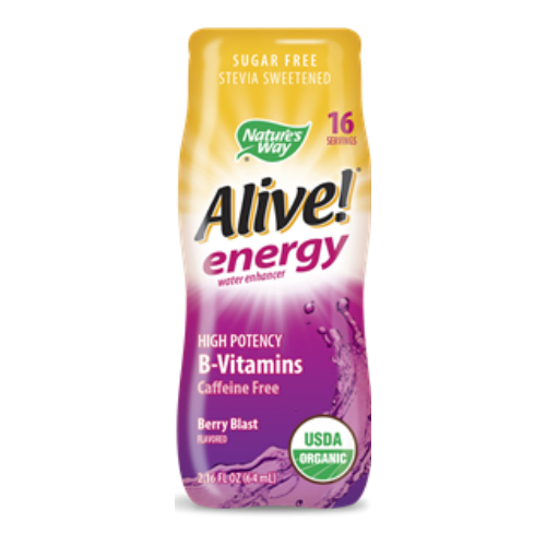 Alive Energy Organic Water Enhancer Berry Blast