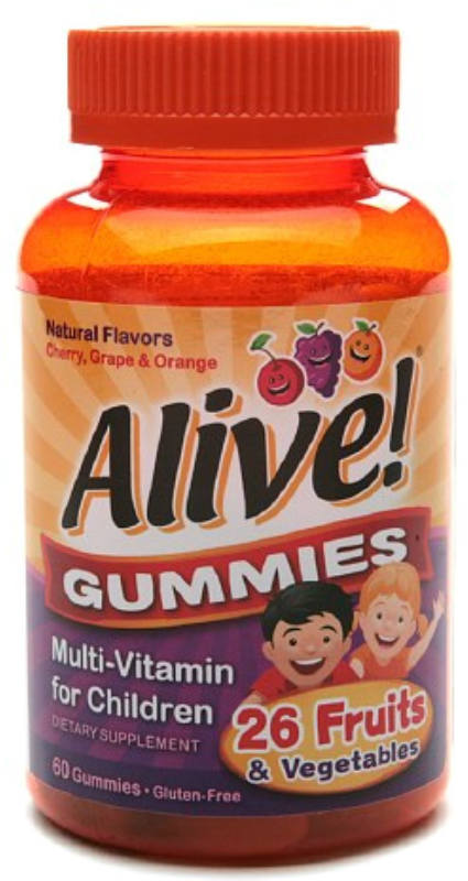 NATURE'S WAY: Alive Kid's Gummy Vitamins 60 ct