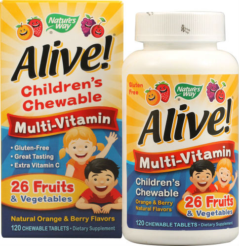 Nature's Way: ALIVE CHILD MULTI TABS 120 CHEW