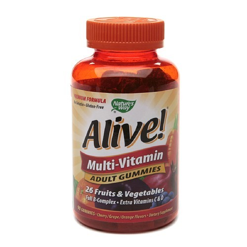 Nature's Way: ALIVE ADULT MULTI GUMMIES 90 CHEW
