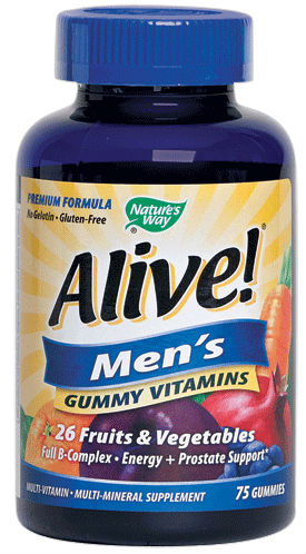 NATURE'S WAY: Alive Women's 50 Plus Gummy Multi Vitamin 75 ct