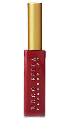 ECCO BELLA: FlowerColor Good For You Gloss Mini Passion Fire Engine Red 0.14 oz