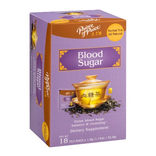 PRINCE OF PEACE: Blood Sugar Tea 18 bag