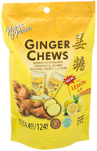 Ginger Chews with Lemon