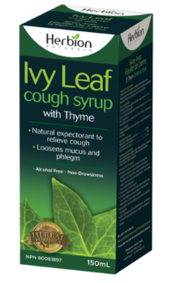 HERBION: Ivy Leaf Cough Syrup with Thyme 5 oz