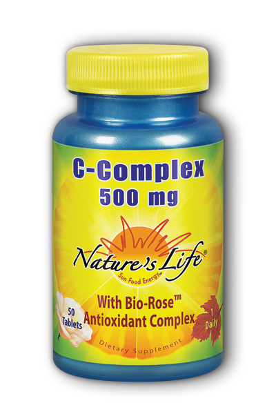 Natures Life: C-Complex 500 mg 50ct
