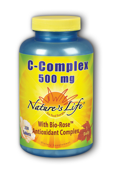 Natures Life: C-Complex 500 mg 250ct