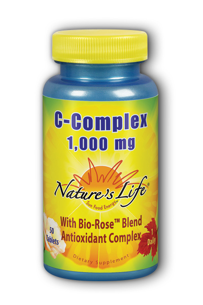 Natures Life: C-Complex 1,000 mg 50ct