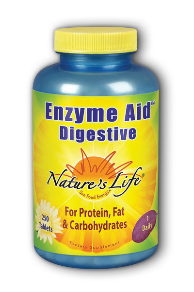 Natures Life: Enzyme Aid Digest Tab 250ct