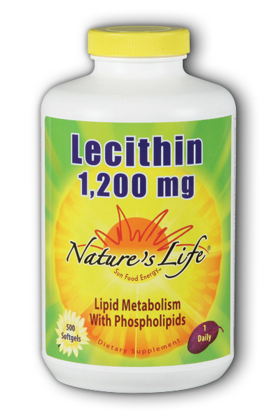 Lecithin, 1,200 mg