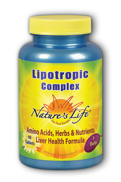 Natures Life: Lipotropic Complex 90ct