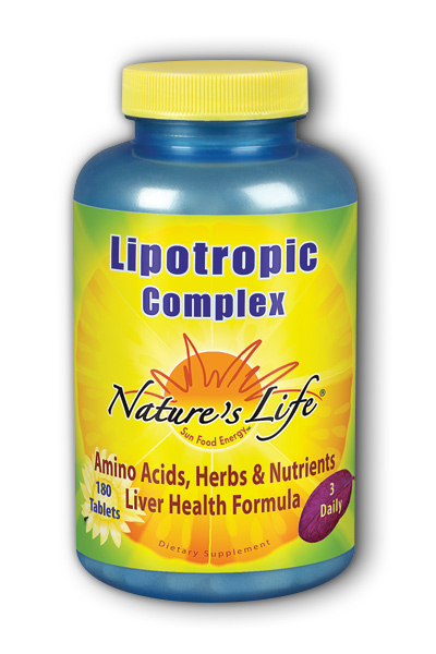 Natures Life: Lipotropic Complex 180ct