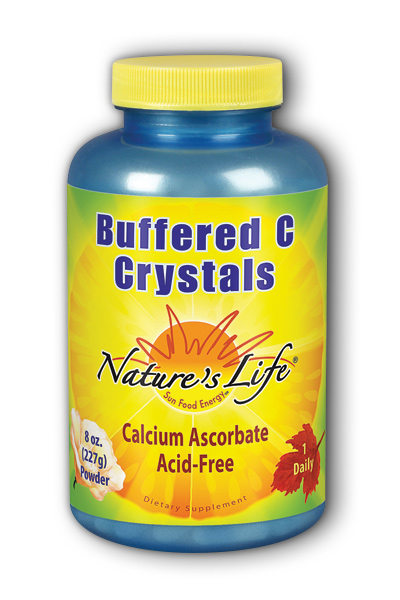 Natures Life: Buffered C Crystals 8oz