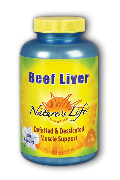 Beef Liver 1,500 mg, 100ct